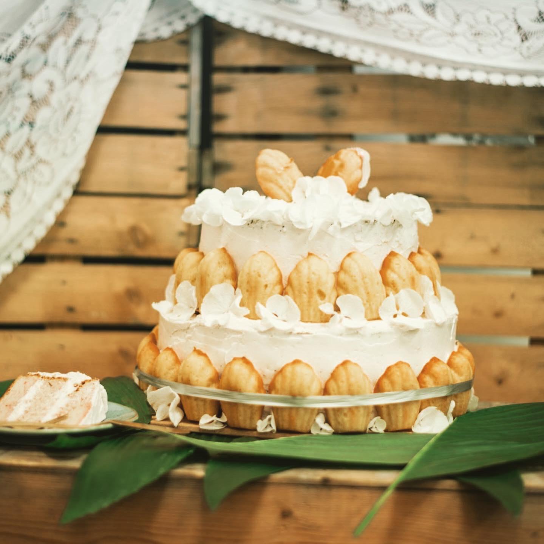 bruidstaart madeleines