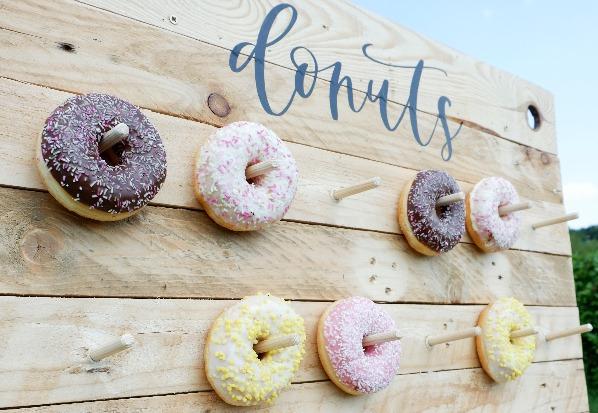 Traktatie op werk_donuts