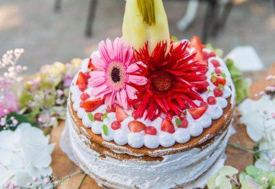 Eetbaar bruidspaar